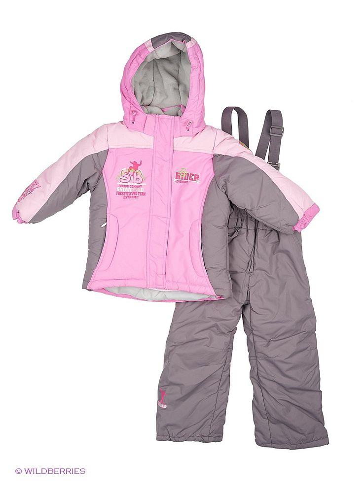 Комплект для девочки. Куртка: верх - плащевая ткань; подкладка - флис, утеплитель: синтепон 400 г/кв м. Полукомбинезон: верх-плащевая ткань; подкладка - флис; утеплитель синтепон 150 г/кв м.