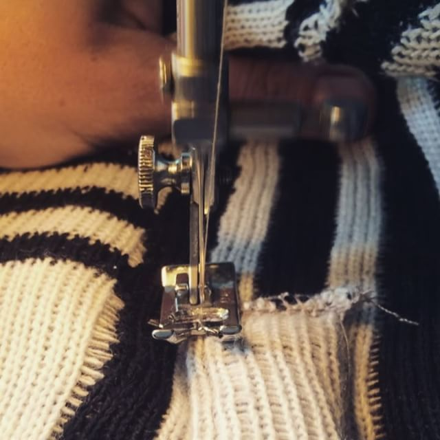 www.lizetvanderknaap.com  #sewing #bag #knitted #LIZETVANDERKNAAP
