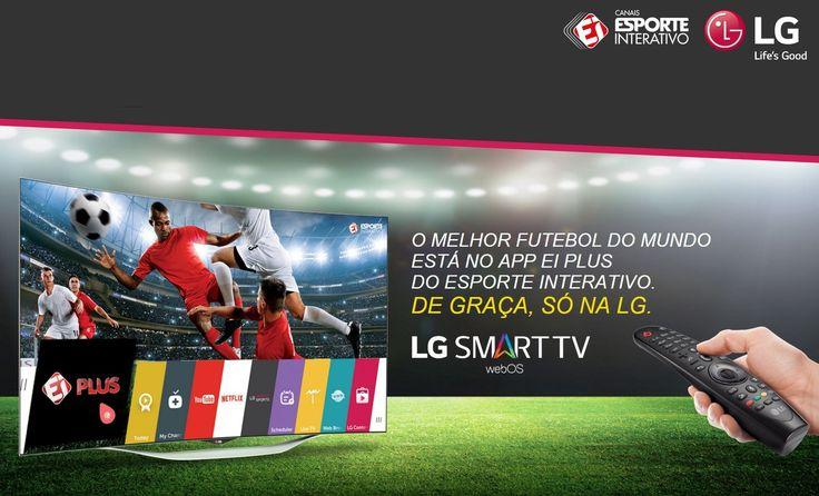 Gol de placa: Parceria entre LG e Esporte interativo trará a final Liga dos Campeões da UEFA em 4K - http://www.showmetech.com.br/gol-de-placa-parceria-entre-lg-e-esporte-interativo-trara-liga-dos-campeoes-da-uefa-em-4k/
