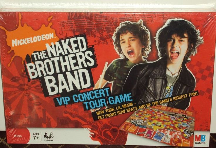 brothers concert naked band