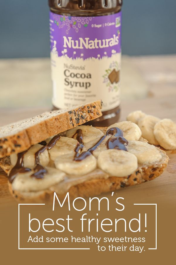 Use NuNaturals NuStevia Cocoa Syrup on ice cream, coffee, and to make healthy chocolate milk. Also great for cooking! The rich chocolate syrup taste will instantly transport you back to the days of your childhood, without the sugar and unhealthy additives. This is a mom's best friend! Give your kids the chocolate satisfaction they crave without the added sugar.