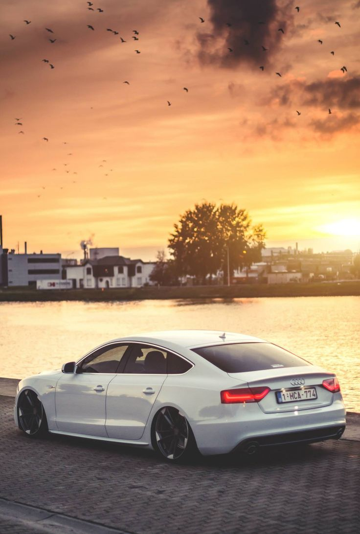 The best place to be in the summer is beside your Audi, catching the sun, just don't forget paint protection.