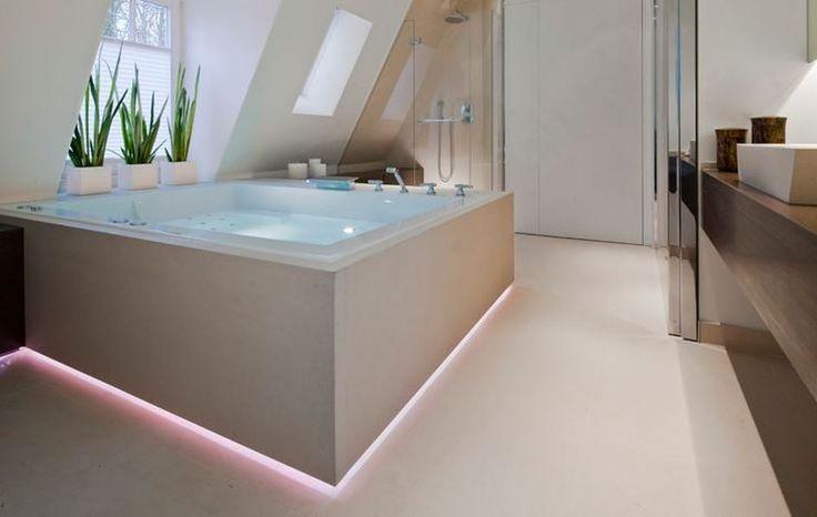 badezimmer ohne fliesen fugenlos badputz 3