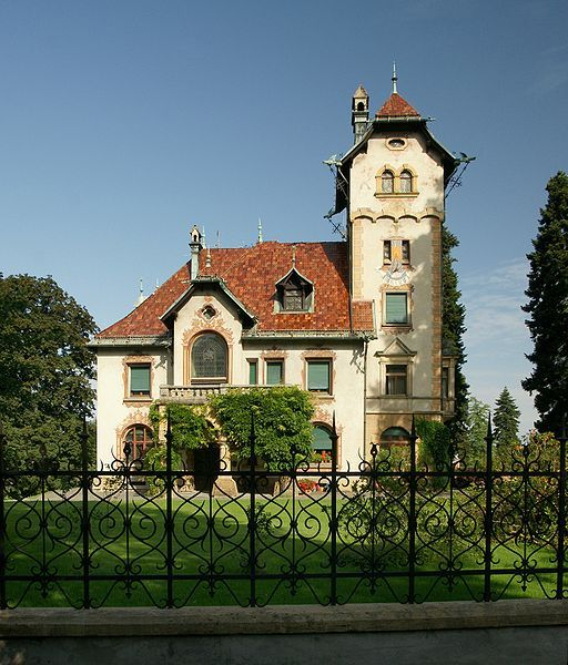 Villa h mmerle dornbirn austria built in 1890 via 1890 home architecture