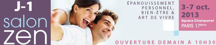 Salon Zen, Porte de Champerret du 3 au 7 oct. 2013