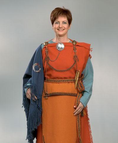 .Reconstructed Mikkeli dress.