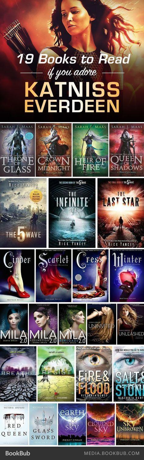 """19 Bücher zum Lesen, wenn Sie """"The Hunger Games"""" …"""