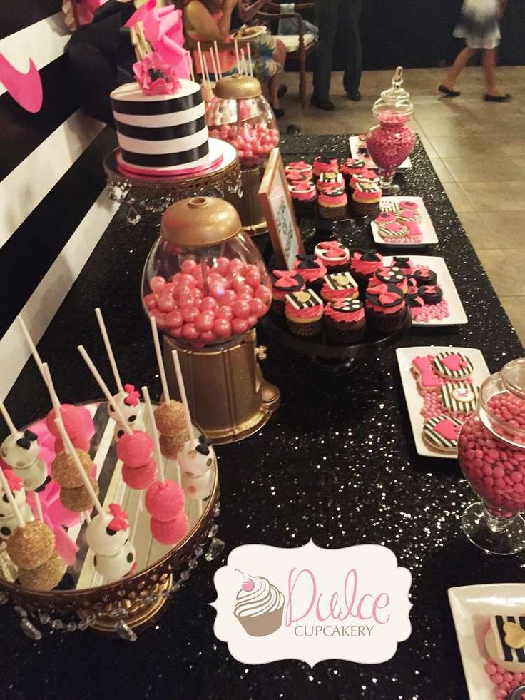 Kate Spade Inspired Birthday Party Ideas   Photo 13 of 16