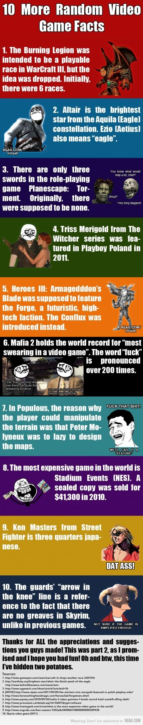 10 More Random Video Games Facts  Book your Video Game Party Package Today! Chicagoland and Northwest Indiana visit: www.RollingVideoGamesChicago.com   #chicago