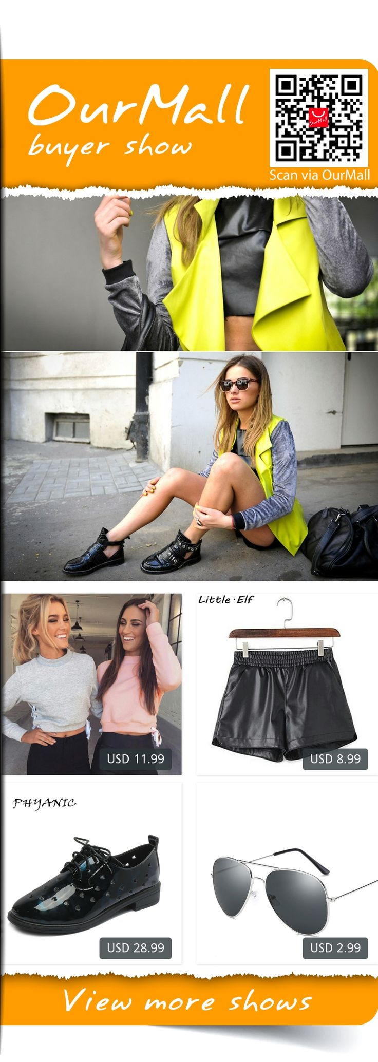 This is Juliett Kuczynska's buyer show in OurMall;  1.Tracksuit 2 Colors Hoodie Women Sweatshirt Side Cross Long Sleeve Pink 2.Summer Spring Sexy Black Shorts Women's Slim Fit PU Leather Shorts female casual 3.New Women's Fashion Spring Summer Hollow Flat Womens Casual Martin Boot... please click the picture for detail. http://ourmall.com/?vUnqQf  #vest #womenvest #denimvest #fashionvest #sleevenessvest #vestforgirls #vestforwomen #casualvest #sportsvest #springvest