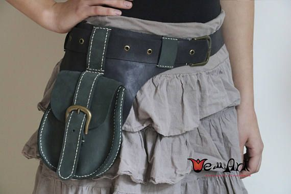 Hey, I found this really awesome Etsy listing at https://www.etsy.com/ca/listing/572707980/green-and-black-genuine-leather-handmade