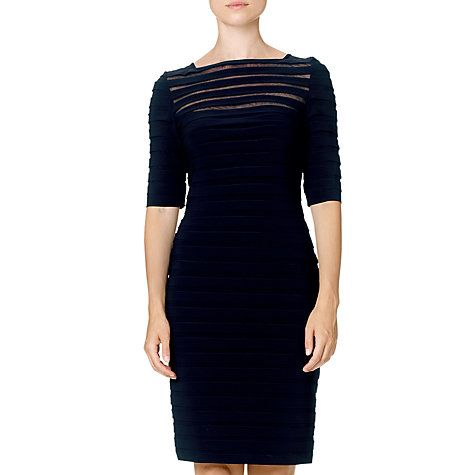 Buy Adrianna Papell Eclipse Part Tuck Dress Online at johnlewis.com