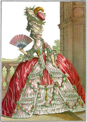 Tussen 1700 en 1800 keken Nederlanders af van de Fransen. De rijke mensen kleedden ze zich naar de Franse mode. Bij die mode hoorde het dragen van een pruik. Dat kwam omdat koning Lodewijk de Veertiende van Frankrijk een pruik droeg. Hij was namelijk op zijn 32e al kaal en wilde dit verbergen. Omdat de koning een pruik droeg, deden de heren aan het hof dat ook. En Nederlanders gingen het nadoen. Zo kwam de achttiende eeuw aan de naam 'pruikentijd'.