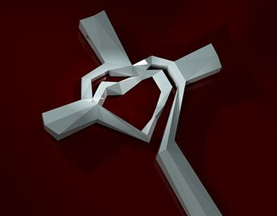 "Check out new work on my @Behance portfolio: ""Jezabel - cross width double heart"" http://be.net/gallery/38081499/Jezabel-cross-width-double-heart"