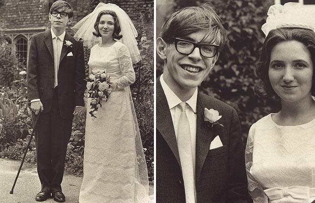 ★ Professor Stephen Hawking: in pictures, wedding to Jane Wilde in 1965. ★