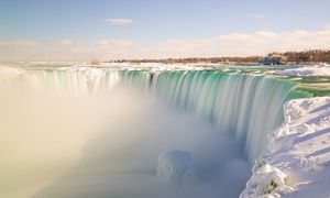 Groupon - Stay with Dining Credits at Wyndham Garden Niagara Falls Hotel in Ontario. Dates into March 2017.  in Niagara Falls, Ontario. Groupon deal price: $62