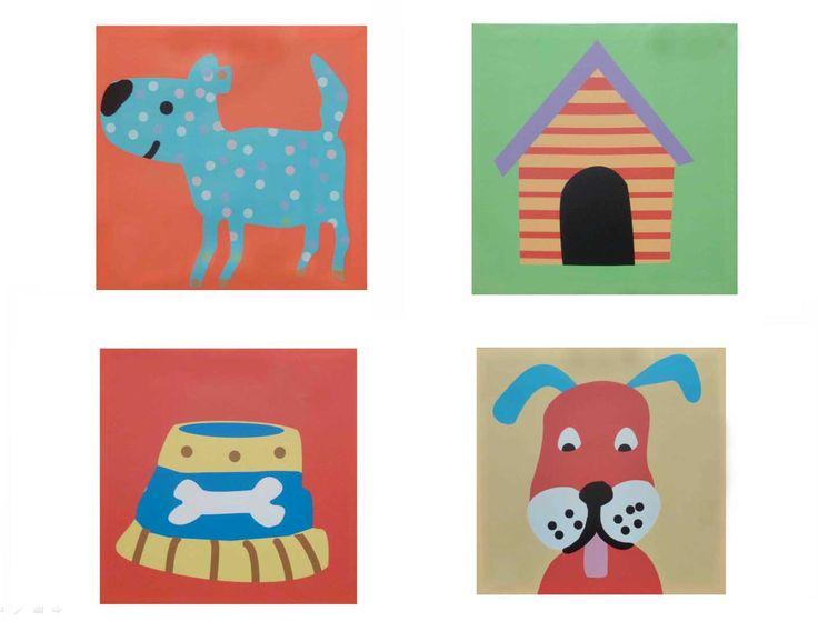 #ohmicasa #decoración #hogar #casa #cuadro #perro