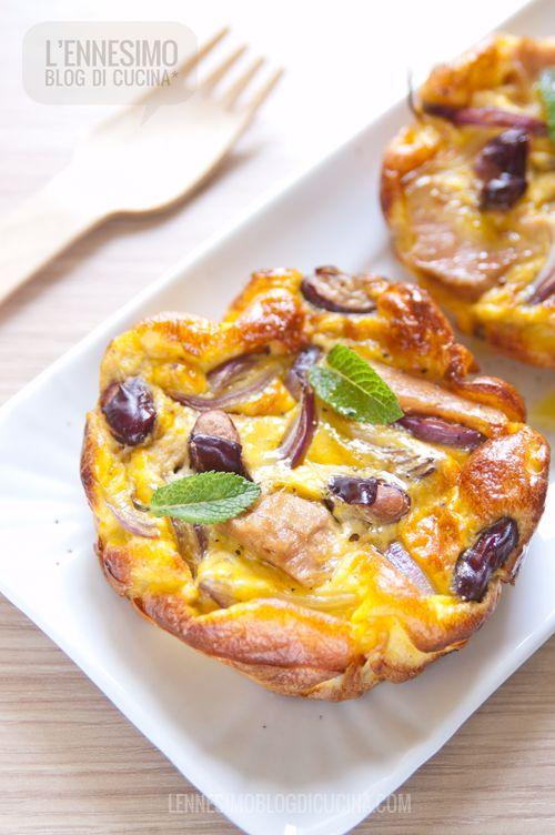 Frittata al forno con filetti di Tonno Callipo, cipolle e fagioli rossi (tuna omelette with onions and red beans) ©lennesimoblog