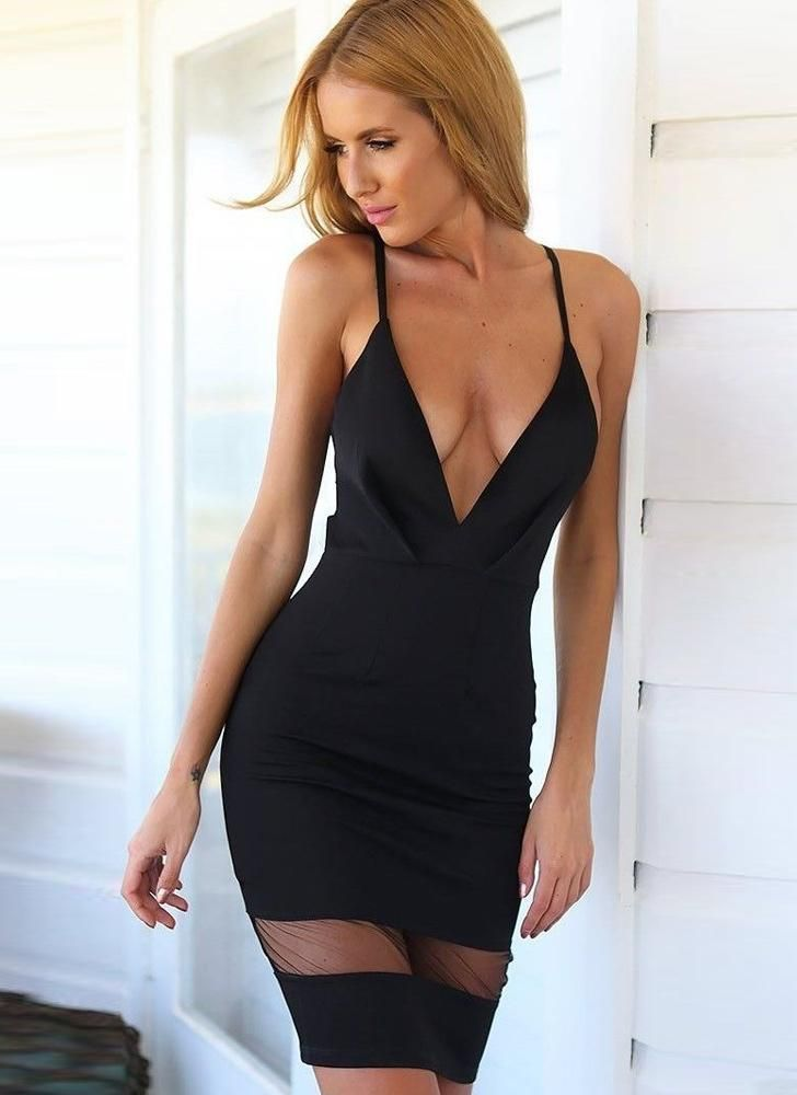 Let this be your go to little black dress ;) so sexy & chic! Can you believe its $16.86 Stay up to date on the latest fashion with Chicuu's newsletter and receive 30% off your first order!