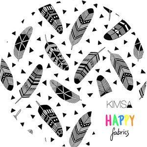Kimsa design - Feathers