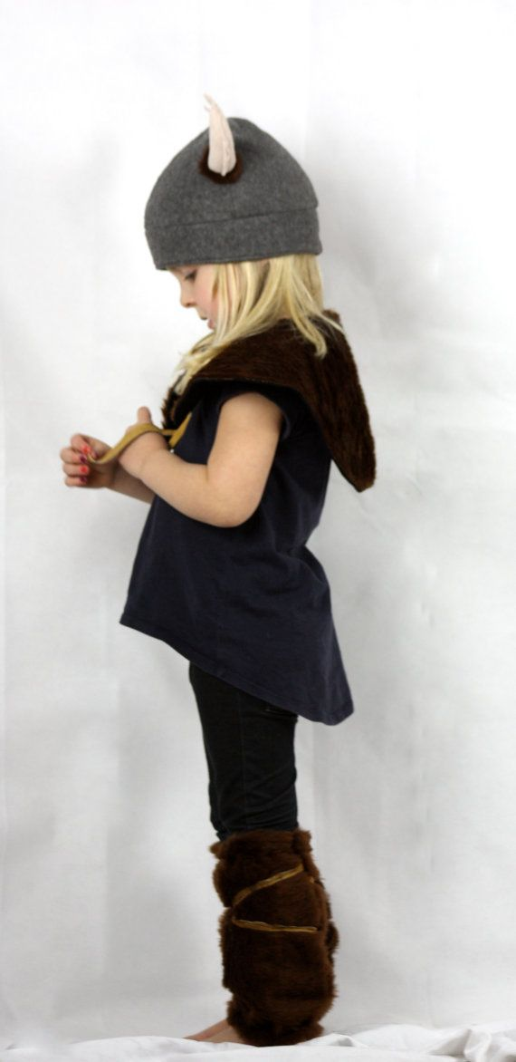 Viking Set Children's Costume by sparrowandbcostumery