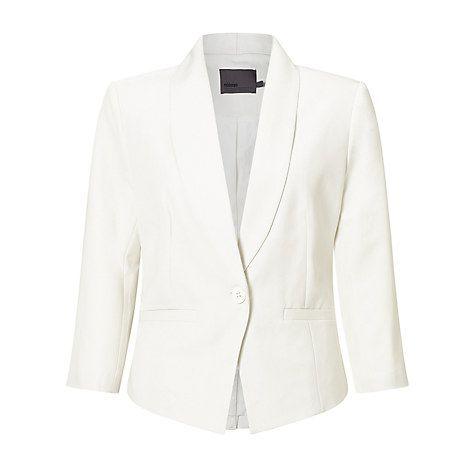 Buy Minimum Evaline Blazer, Broken White Online at johnlewis.com