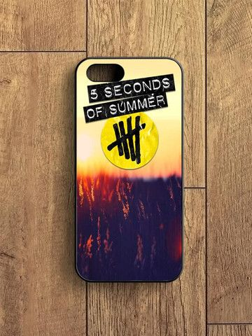 5 Second Of Summer Sunset iPhone 5S Case