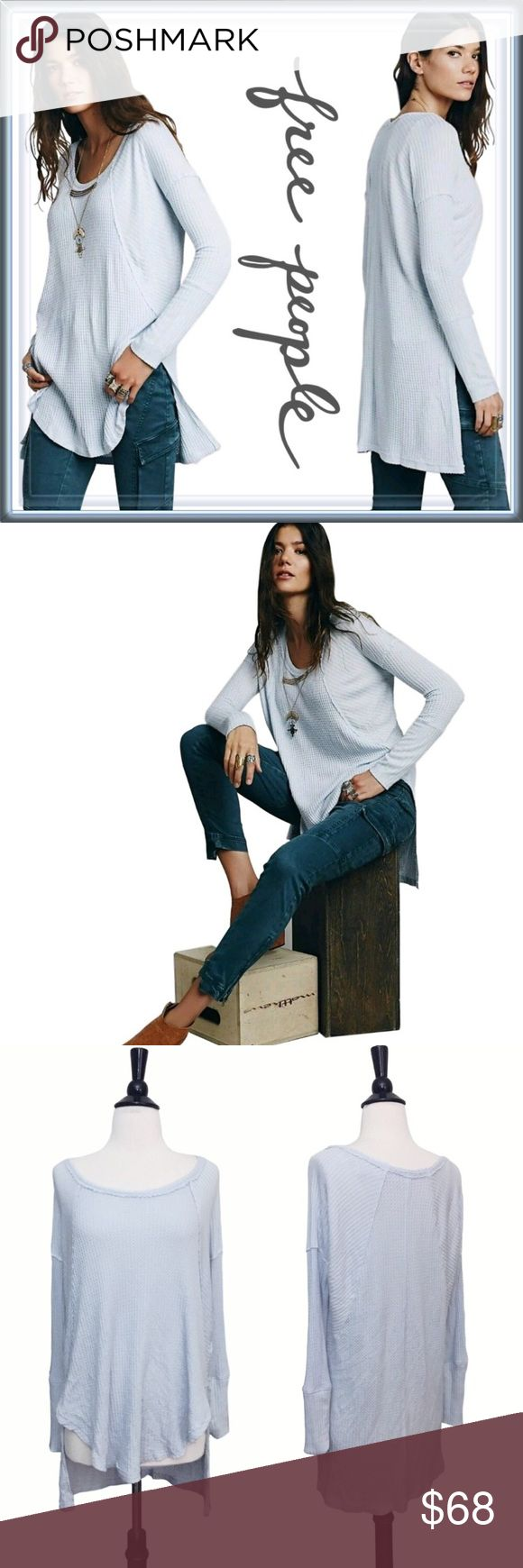 People sitting in waffle chair - Free People Ventura Drippy Thermal