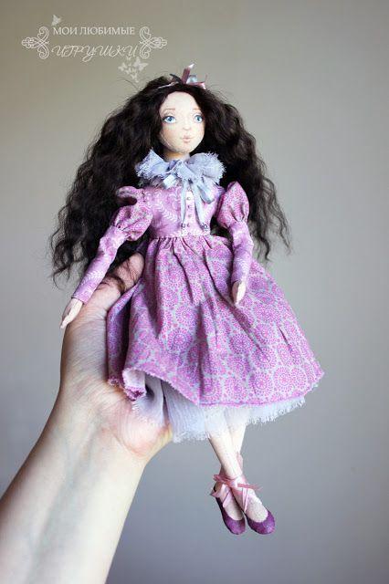Блог Мои любимые игрушки. Анна Балябина, авторские куклы и игрушки: Джейн