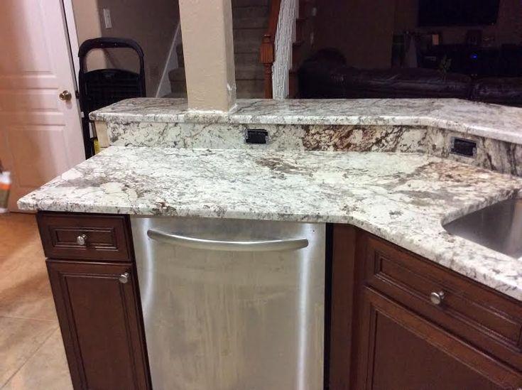 White Springs Granite Countertops In Kitchen And Bathroom By Granite  Perfection In Orlando, FL.