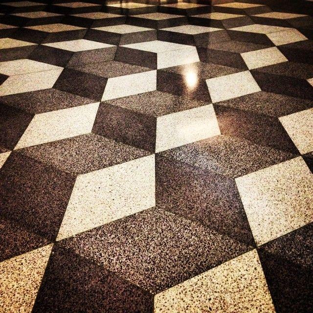Terrazzo floor geometric inspiration pinterest for Design terrazzo