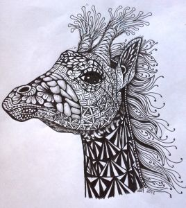 """E Z Art - """"Zentangle® . . . . . anything is possible one stroke at ..."""