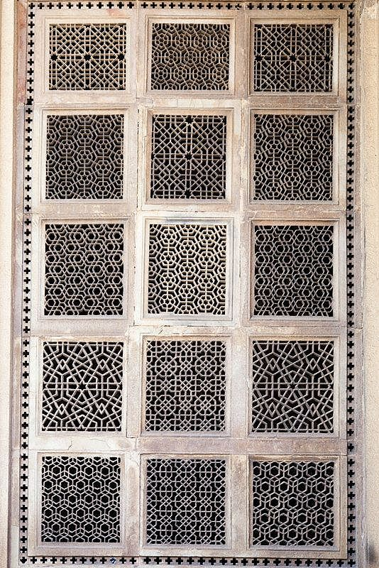 Carved Screen Gwalior Madhya Pradesh India Stephen