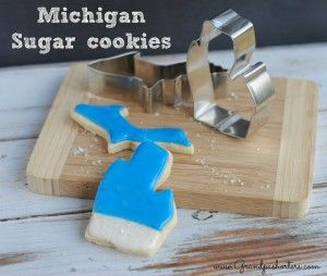 Michigan Sugar Cookies #PureMichigan #Gifts