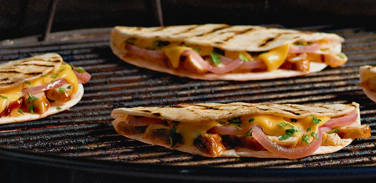 Grilled Chicken Quesadillas: Delicious Dinners, Kraft Recipes, Healthy Recipes Ideas, Grilled Bbq, 30 Minute Recipes, Bbq Chicken, Chicken Quesadillas Recipes, Bbq Dinners, Grilled Chicken Quesadillas