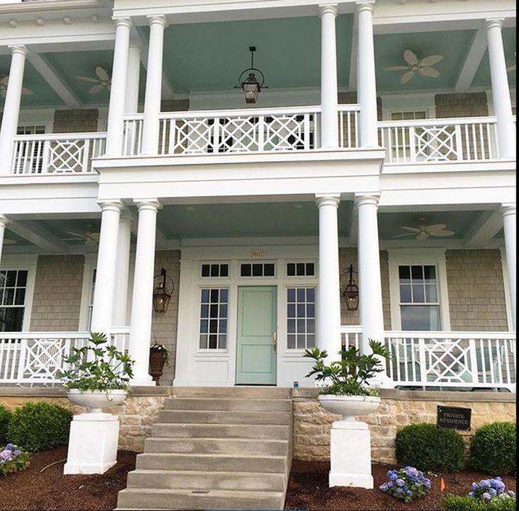 Front Porch Ceiling Ideas: 1000+ Images About Porches On Pinterest