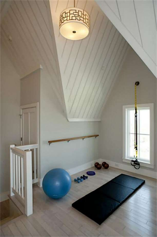 Ideas about home gyms on pinterest exercise rooms