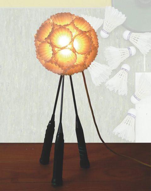 badminton lamp ♥