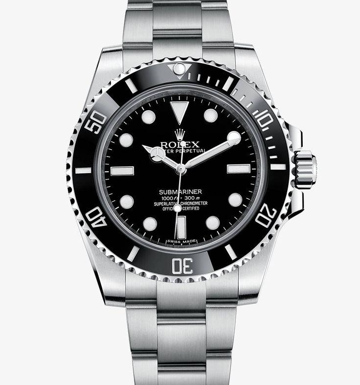 Rolex Submariner Uhr: Edelstahl 904L – M114060-0002