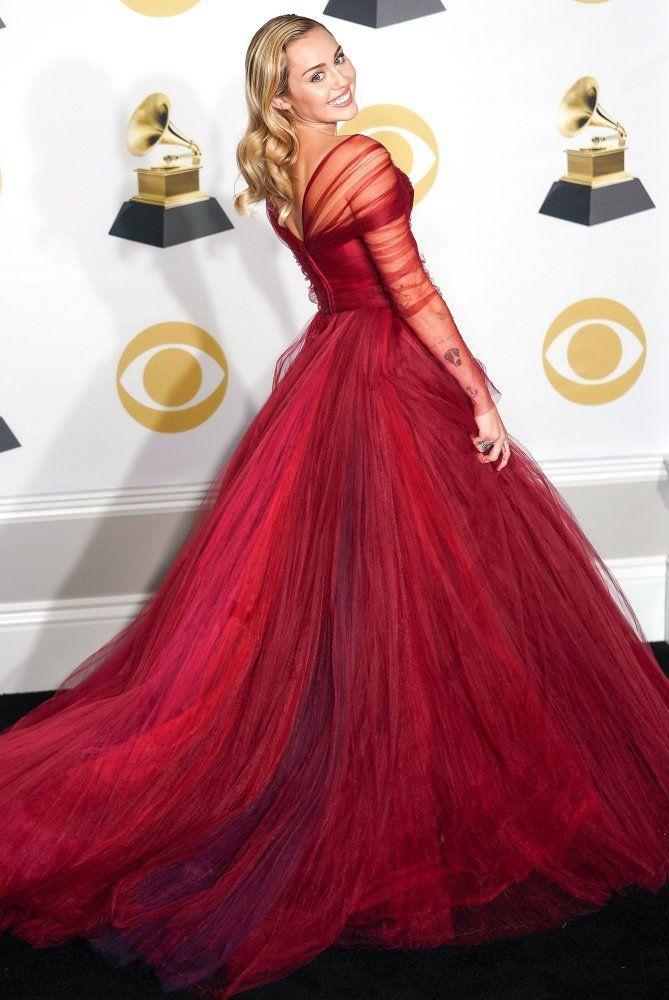 Abiti Da Sera Zac Posen.Best Dressed Celebrities See Their Dresses From The Back Miley
