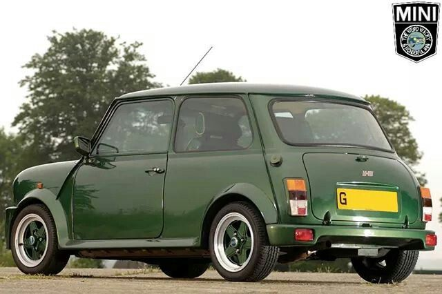 Rover Special Projects M-30. At the time the most expensive Mini ever built. This one belonged to F1 Supremo Bernie Eccleston and is no2 of only 6 ever made.