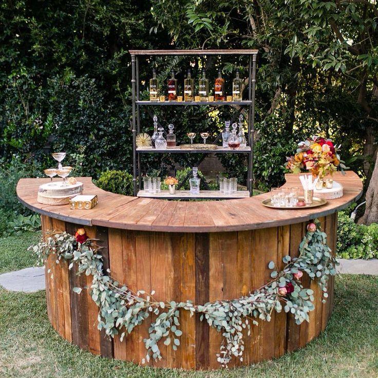 Outdoor Wedding Bar Ideas: 45 Best Deck Bar Ideas Images On Pinterest