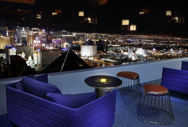 Skyfall Lounge in Delano, Las Vegas