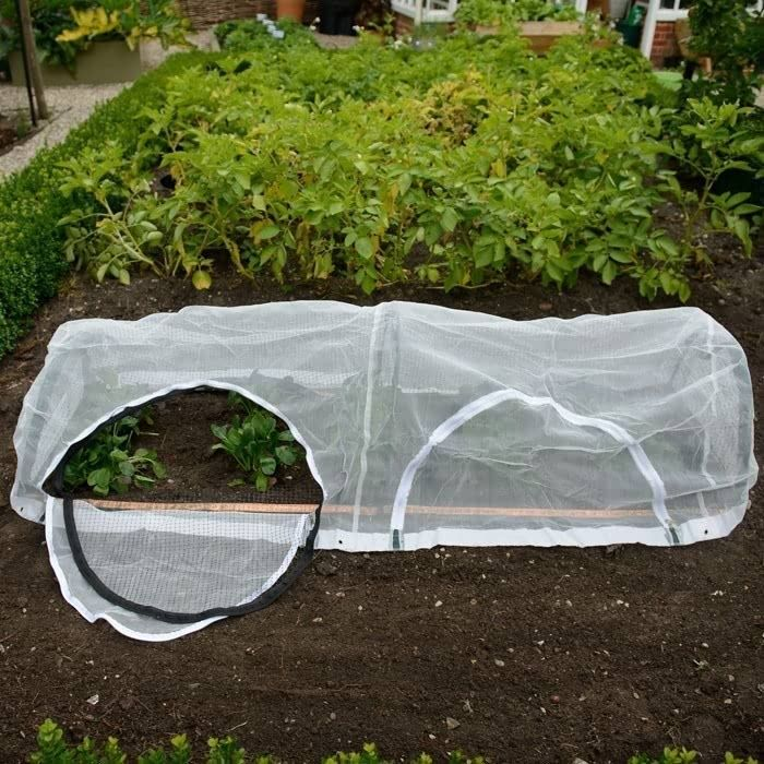 The New Popadome Crop Protection Tunnel is great for protecting everything from newly seeded lawns to full grown plants