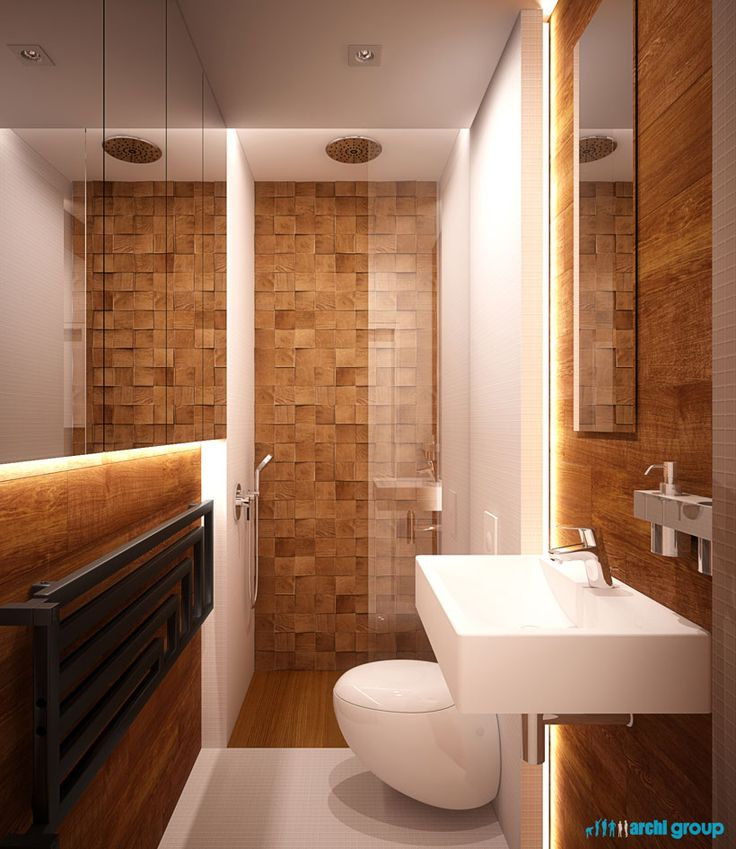 Bathroom interior design in Zabrze POLAND - archi group
