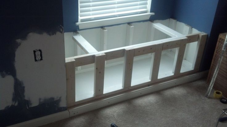 Building a window bench seat