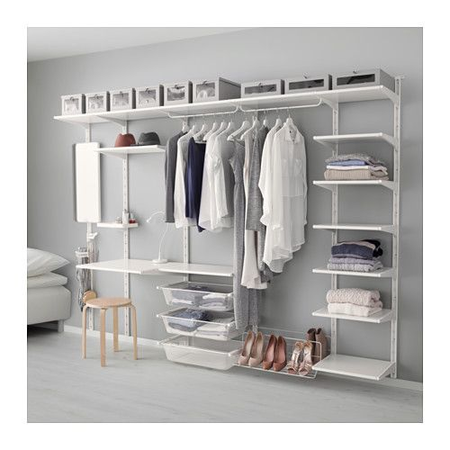 algot wall upright shelf and triple hook ikea