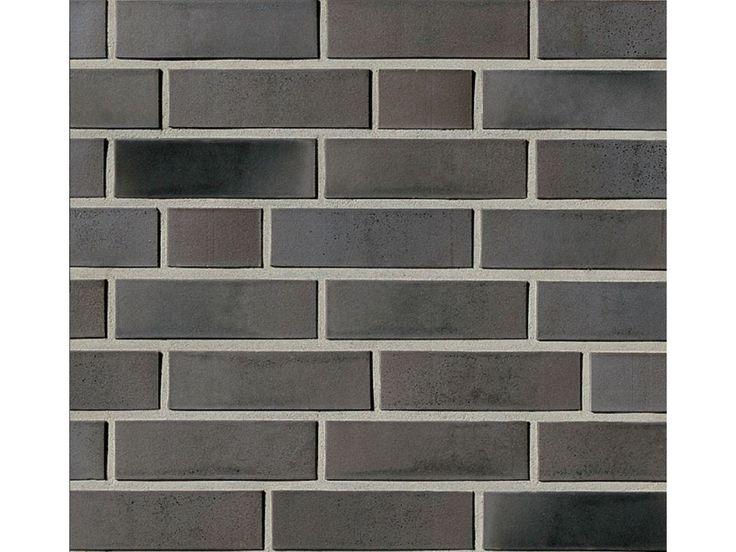 Verblender / Klinker Verblender K501-NF / Klinker / Fassade / Muster / Tafel / anthrazit nuanciert