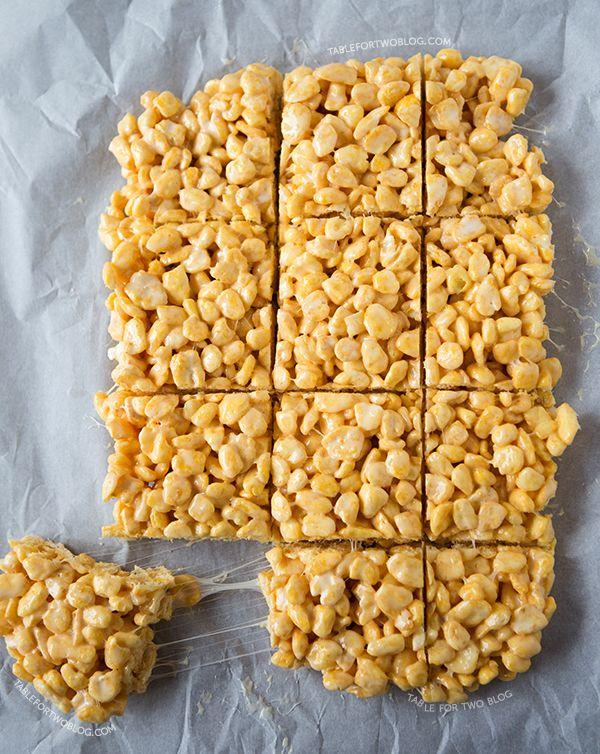 Corn Pop Treats | tablefortwoblog.com