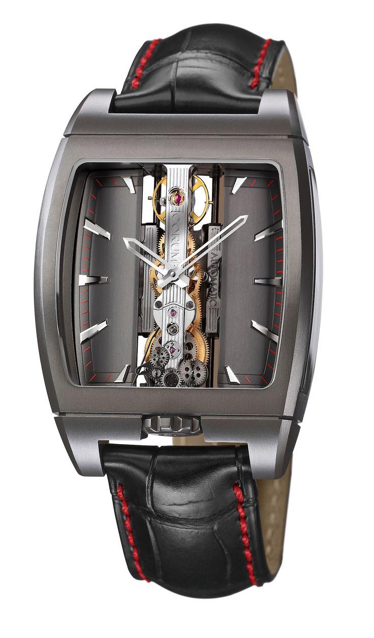 Corum Golden Bridge for Only Watch 2011 #luxurywatch #Corum-swiss Corum Swiss Watchmakers watches #horlogerie @calibrelondon
